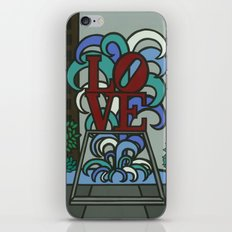 pop LOVE park iPhone & iPod Skin