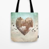 My Heart Is My Castle Tote Bag
