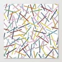 Kerplunk Repeat Canvas Print