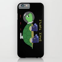 iPhone & iPod Case featuring Space Turtle by Helok