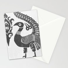 Peacock Symbolism Stationery Cards