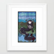 ...From the Waves. Framed Art Print