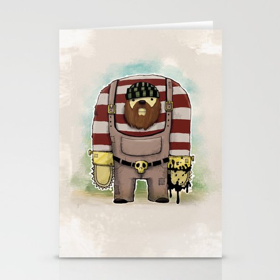 Twoody Stationery Card