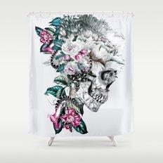 Momento Mori Rev V Shower Curtain