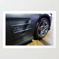 Mercedes-Benz SL 63 AMG … Art Print