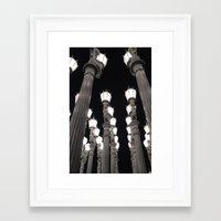Lamps Framed Art Print