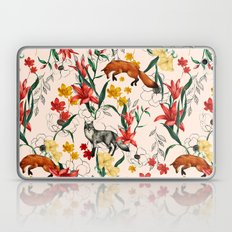 Floral Fox Laptop & iPad Skin