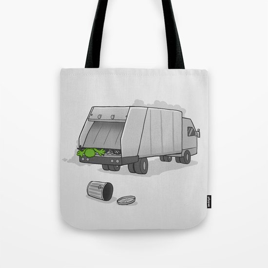 Accident on Sesame St.  Tote Bag