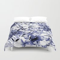Changes Indigo Duvet Cover
