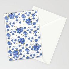 Cape Cod Hydrangeas and Birds Stationery Cards