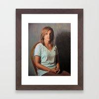 Abby  Framed Art Print
