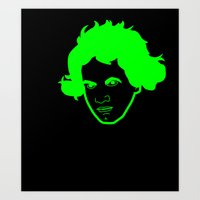 I __ Music Art Print