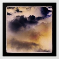 Art Print featuring clouds by sandra lee russell