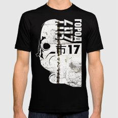 City 17 Black Mens Fitted Tee SMALL