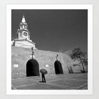 Cartagena Art Print