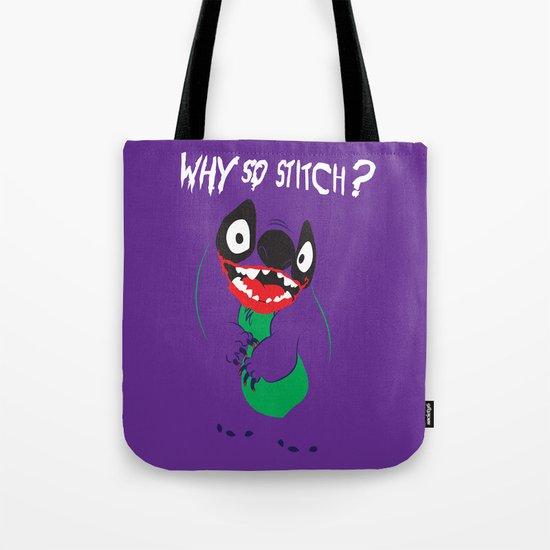 Why So Stitch? Tote Bag