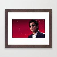 Takeshi Kitano Framed Art Print