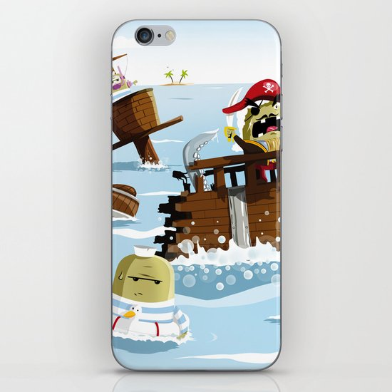 Pirates iPhone & iPod Skin