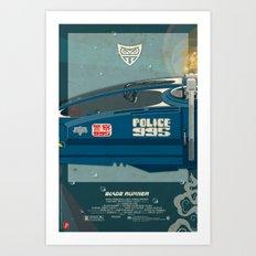 Spinner 995 II/III Blade Runner Art Print