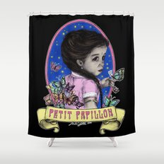 Ma Petite (color) Shower Curtain