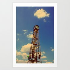 CLOCK TOWER Art Print