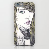 iPhone & iPod Case featuring Sascha by Rachel E Murray