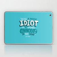 Idiot Commodity Laptop & iPad Skin