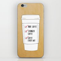 (More) Coffee iPhone & iPod Skin