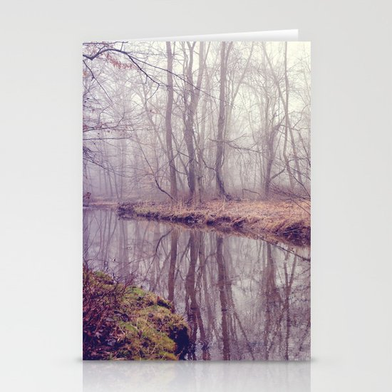when time stood still Stationery Card