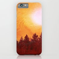 Painted Evergreens iPhone 6 Slim Case
