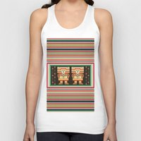 Nick's Blanket 1968 Version 2 (With Figures) Unisex Tank Top