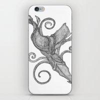 Whale Vs. Squid iPhone & iPod Skin