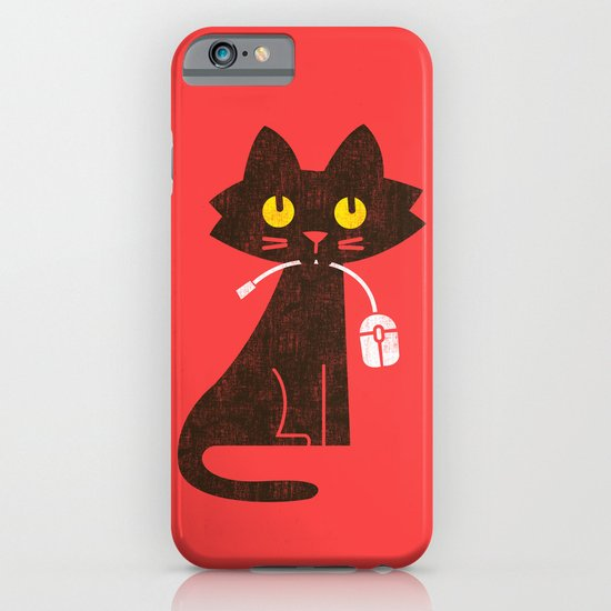 Fitz - Hungry hungry cat (and unfortunate mouse) iPhone & iPod Case