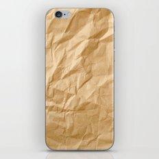 Paper Trash iPhone & iPod Skin
