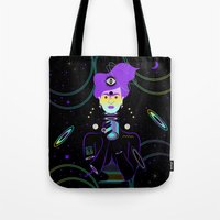 Cosmic Frida Tote Bag