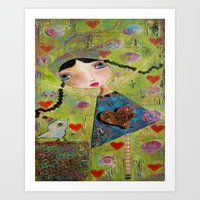 Honor This Moment Art Print