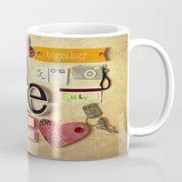 Collage Love - You & Me Mug