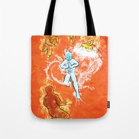 Elemental War Tote Bag