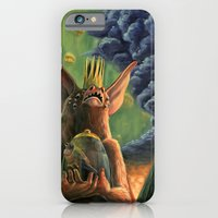 iPhone & iPod Case featuring The Caged Bird and The Bat by deyampt