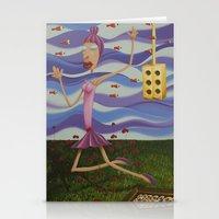 Floating Dancer Stationery Cards