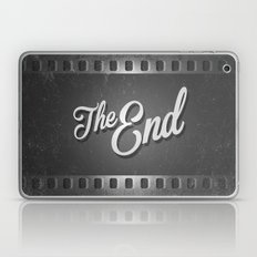 The End /poster Laptop & iPad Skin
