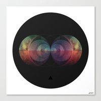 ∆ cosmic order Canvas Print