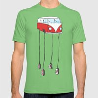 the daliwagen Mens Fitted Tee Grass SMALL