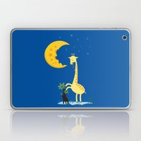 The Delicious Moon Chees… Laptop & iPad Skin