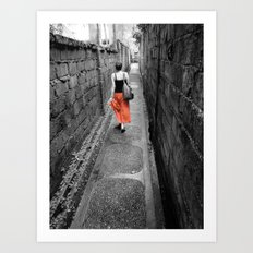 Damp Passage Art Print