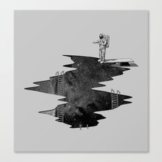 Space Diving Canvas Print
