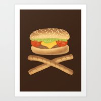 High Fat Art Print
