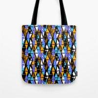 Harlequin pattern Tote Bag
