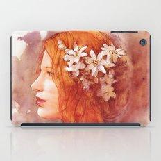 Flower scent iPad Case