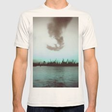 Seagull Mens Fitted Tee Natural SMALL